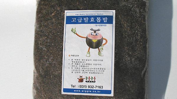 발효톱밥(장수풍뎅이용)
