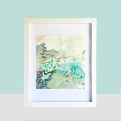 ORIGINALS | Abstract Landscape- Green