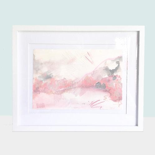 ORIGINALS | Abstract Landscape - Pink