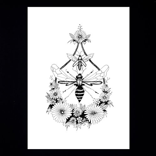 INKED NATURE | The Bee Drop