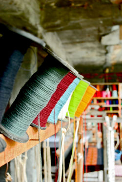 Thread to Make Shawls in India