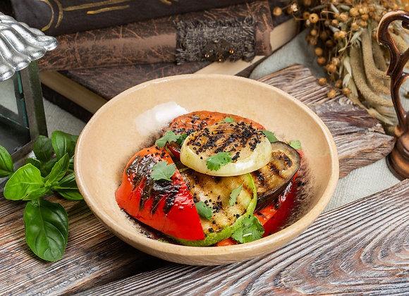 Вкусные овощи на гриле с ароматом трюфеля200гр