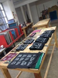 tshirts making of