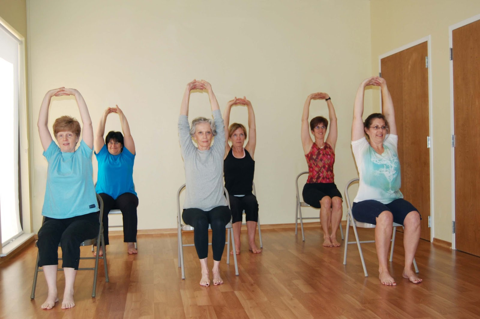 Chair Yoga for over 65's
