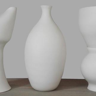 Three in a row - Porcelain