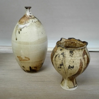 Two vases- Stoneware