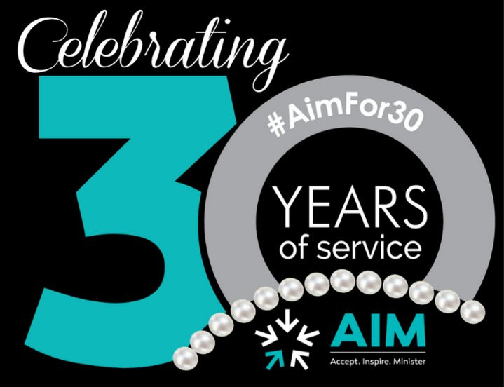 Celebrating 30 Years of Service: #AIMfor30