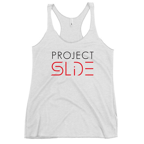 Project SLIDE Teen/Adult Women's Racerback Tank