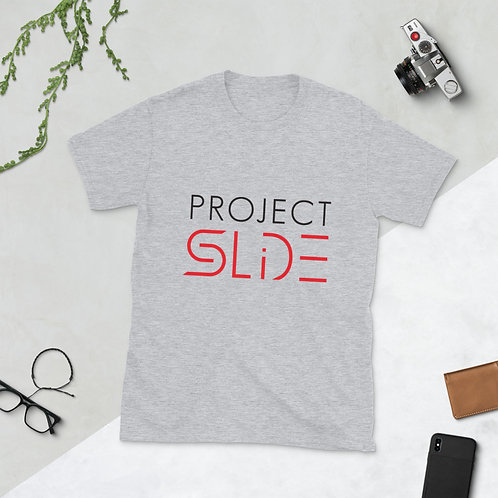 Project SLIDE Teen/Adult Short-Sleeve Unisex T-Shirt