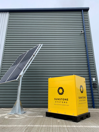 Permanent Solar CCTV System