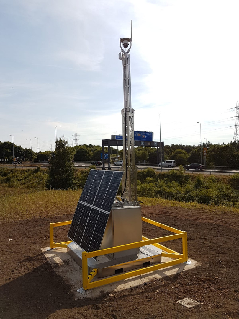 Solar CCTV System and Kier Highways