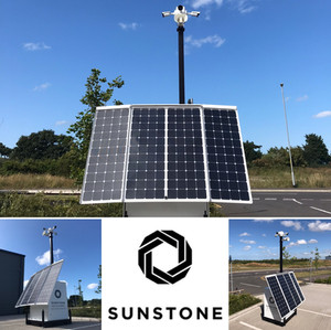 Solar CCTV for Construction Sites
