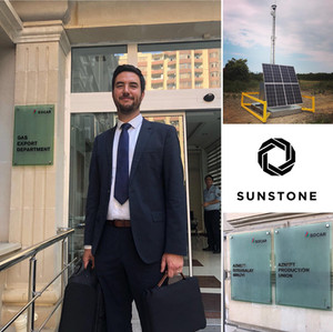 SOCAR invite Sunstone to talk about delivering renewable technologies into oilfields.