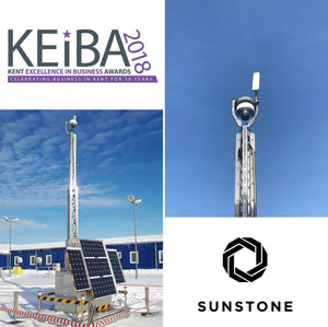 Sunstone shortlisted at the Kent Excellence in Business Awards for Innovation and Renewables.