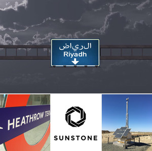 Our team is in Riyadh to talk about the Solar CCTV System