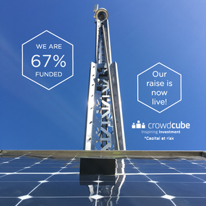 Our Crowdcube raise is live!