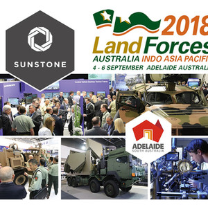 Sunstone attend Land Forces 2018 in Adelaide, Australia.