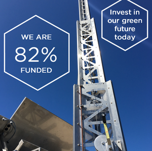 We are 82% funded on Crowdcube!