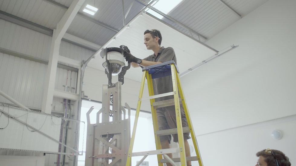 Solar CCTV System