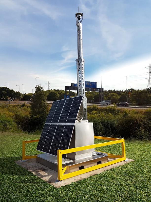 Solar CCTV System and Kier Highways