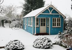 Large garden office in Kent