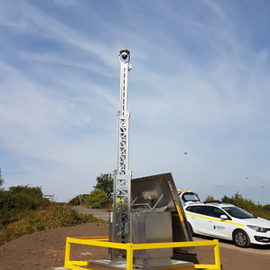 Solar CCTV System recognised by Highways England