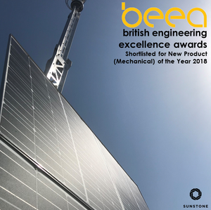 Sunstone nominated at the British Engineering Excellence Awards.