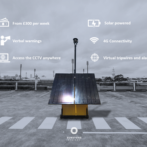 Clean power, connectivity and surveillance anywhere you need it.