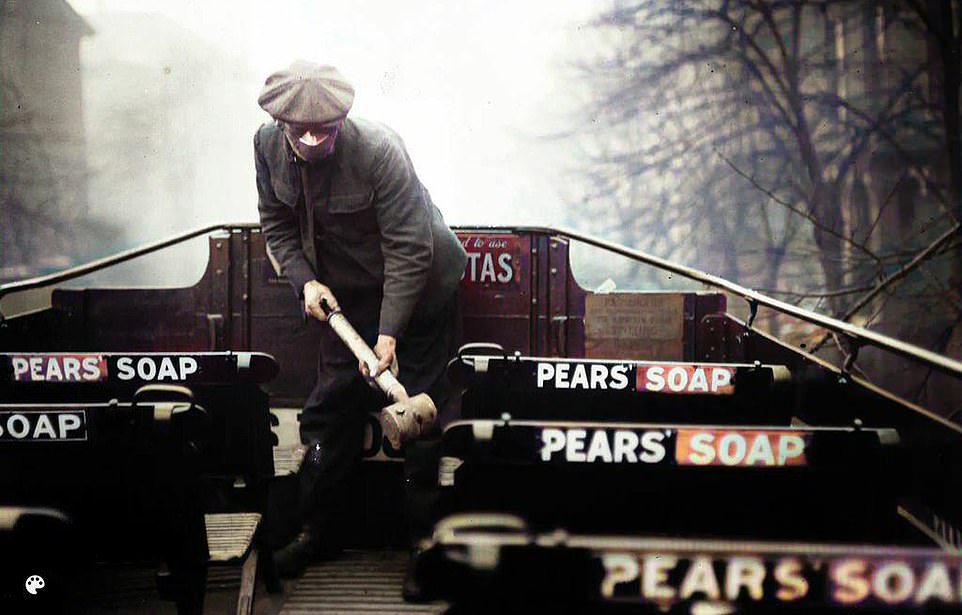The 'Spanish' flu cut down a swathe of humanity towards the end of the First World War, lasting from January 1918 to December 2020 and killing about 50 million people. This picture, taken in March of 2020 shows a still masked cleaner spraying the top of a London bus with anti-bacterial spray as Britain prepared for a fourth wave of the disease
