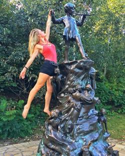 Kensington Gardens, Peter Pan