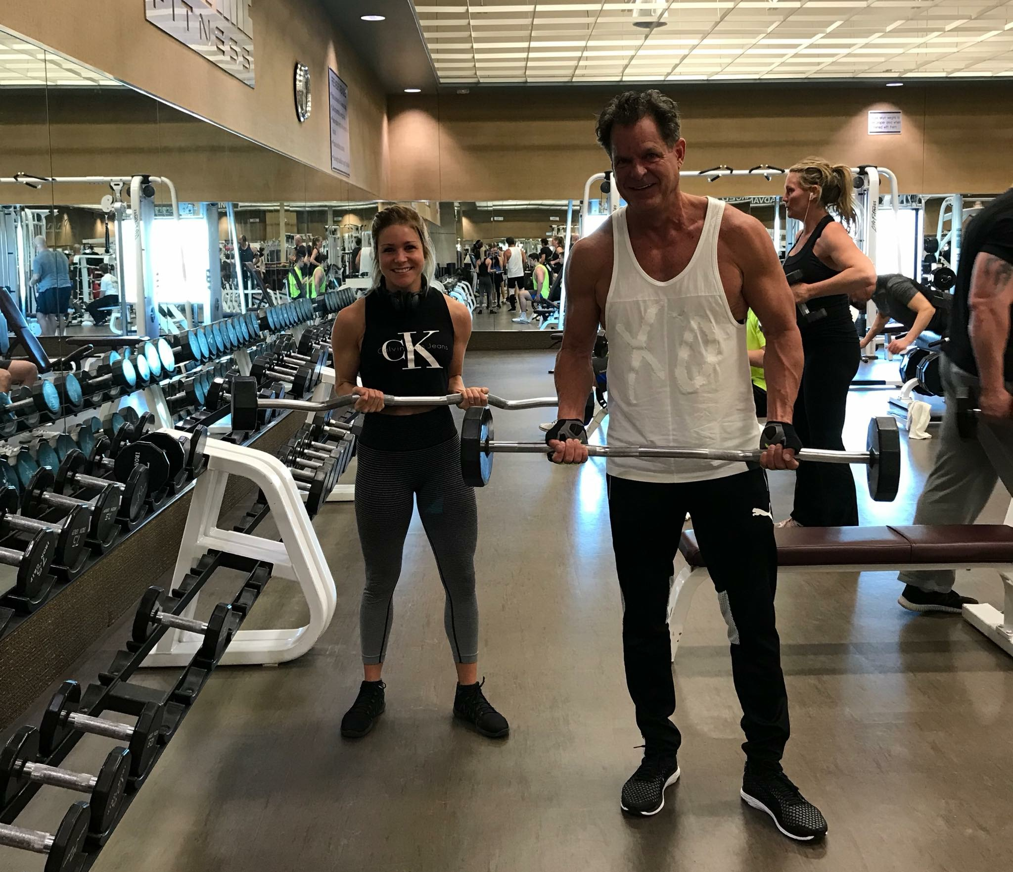 Work out with Tony Jeary