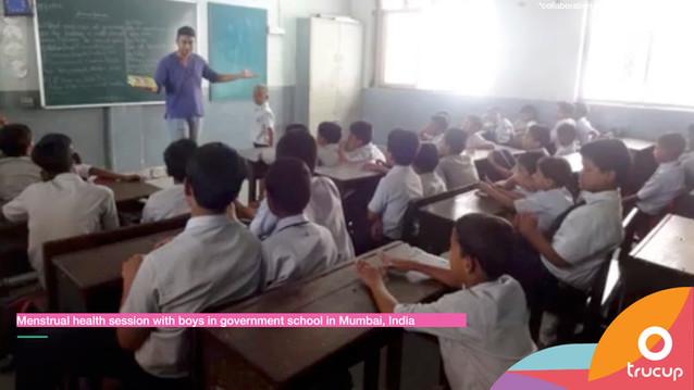 Menstrual Health Session for Boys