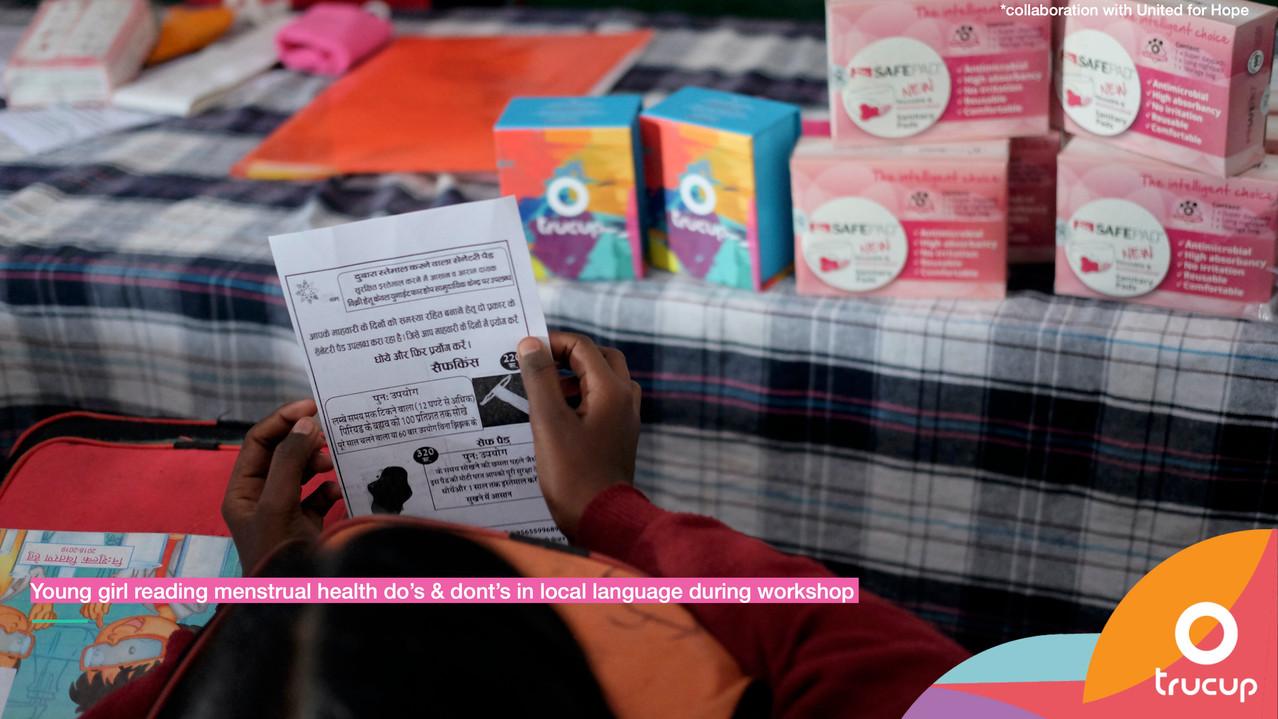Menstrual Health Instructions
