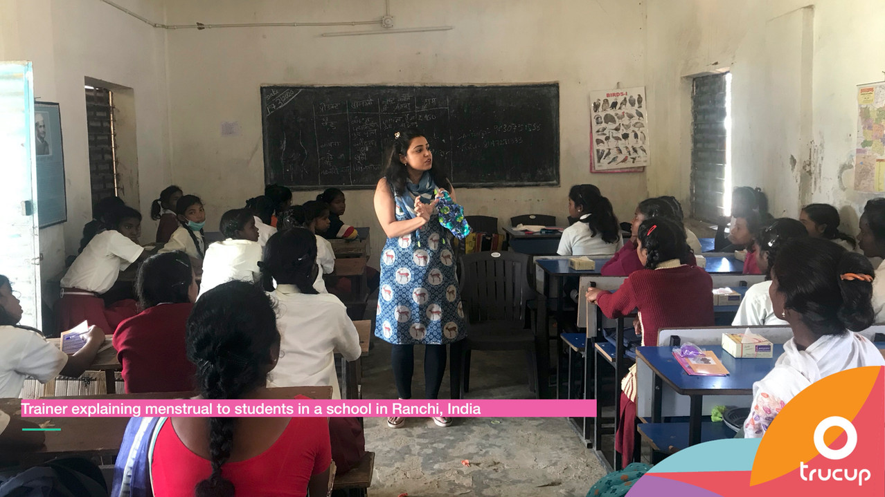 Menstrual Hygiene Session in Ranchi