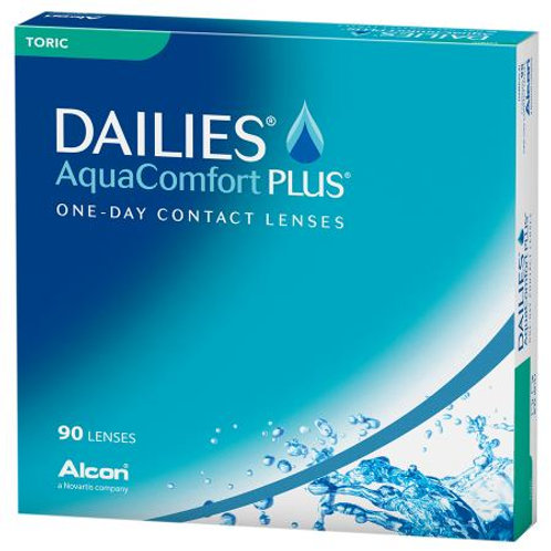 Focus Dailies Aqua Comfort Plus Toric (Ipermetropia) 90x