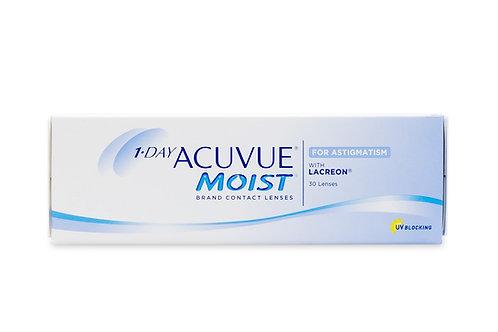 Acuvue Moist For Astigmatism (Ipermetropia) 30x