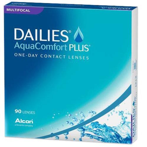 Focus Dailies Aqua Comfort Plus Multifocal (Miopia) 90X