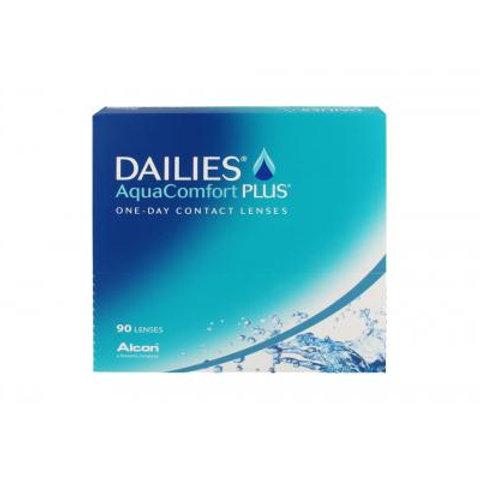 Focus Dailies Aqua Comfort Plus (Miopia) 90x