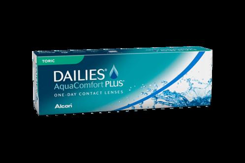 Focus Dailies Aqua Comfort Plus Toric (Miopia) 30x