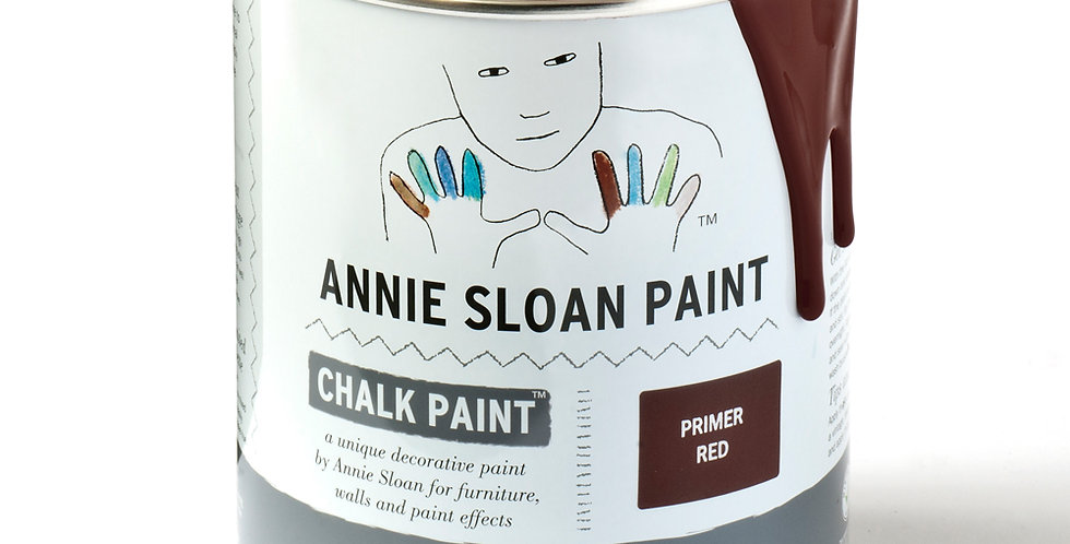 Primer Red Chalk Paint