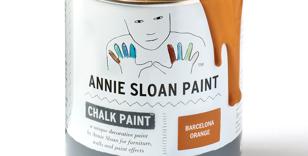 Barcelona Orange Chalk Paint