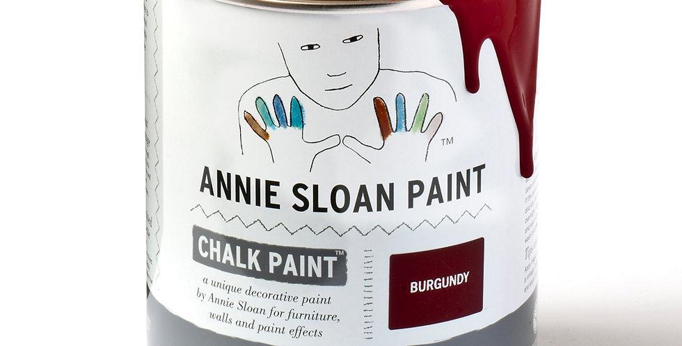 Burgundy Chalk Paint