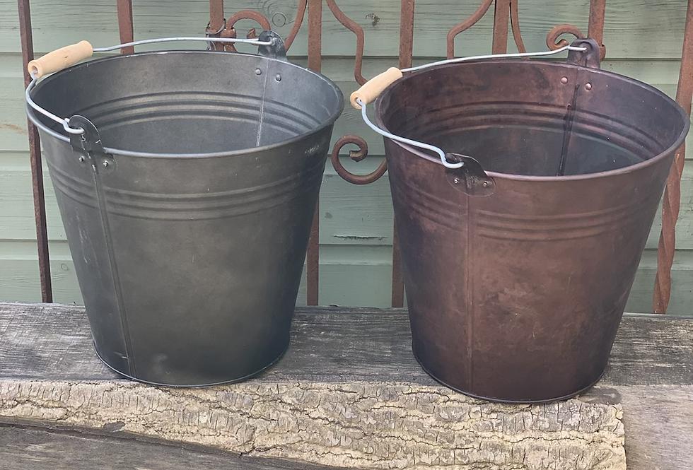 Zinc Pot Large