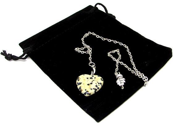 Pendule Fabeo en Jaspe dalmatien