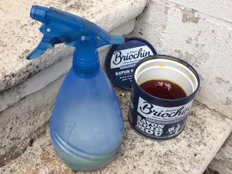 Recette anti-pucerons au savon noir