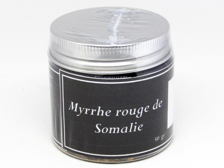 Myrrhe rouge de Somalie