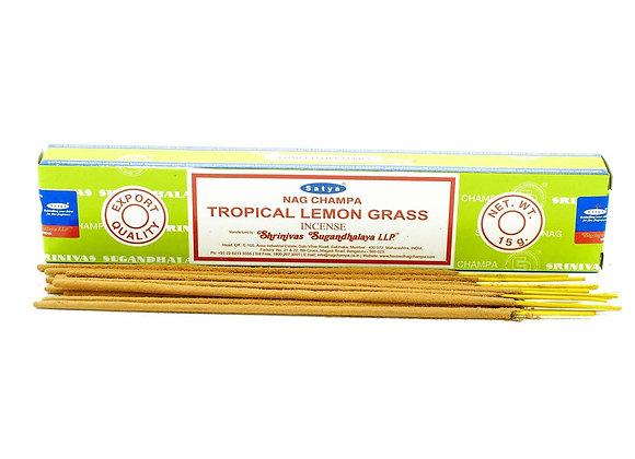 Encens en bâtonnets Tropical Lemon Grass