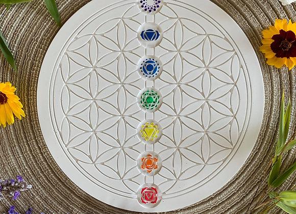 Fleur de vie et les 7 chakras