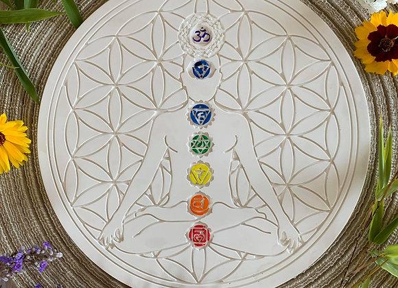 Fleur de vie et méditation