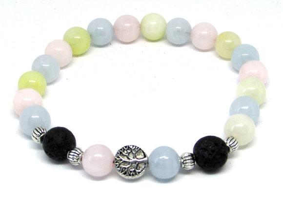 Bracelet en Morganite